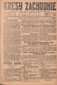 Kresy Zachodnie: pismo poświęcone obronie interesów narodowych na zachodnich ziemiach Polski 1925.02.10 R.3 Nr32