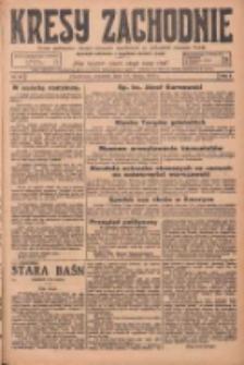 Kresy Zachodnie: pismo poświęcone obronie interesów narodowych na zachodnich ziemiach Polski 1925.02.12 R.3 Nr34