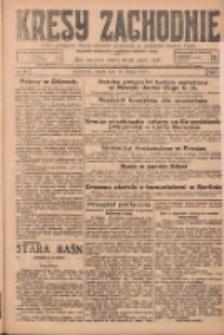 Kresy Zachodnie: pismo poświęcone obronie interesów narodowych na zachodnich ziemiach Polski 1925.02.14 R.3 Nr36