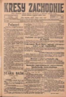 Kresy Zachodnie: pismo poświęcone obronie interesów narodowych na zachodnich ziemiach Polski 1925.02.24 R.3 Nr44