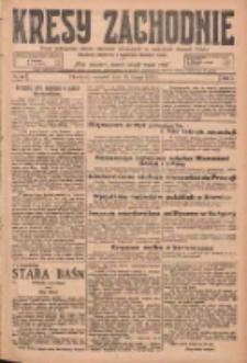 Kresy Zachodnie: pismo poświęcone obronie interesów narodowych na zachodnich ziemiach Polski 1925.02.26 R.3 Nr46