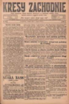 Kresy Zachodnie: pismo poświęcone obronie interesów narodowych na zachodnich ziemiach Polski 1925.03.03 R.3 Nr50