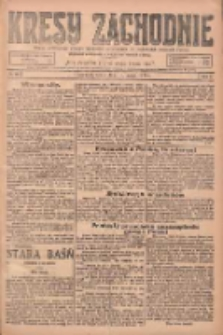 Kresy Zachodnie: pismo poświęcone obronie interesów narodowych na zachodnich ziemiach Polski 1925.03.18 R.3 Nr63