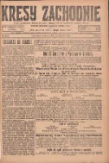 Kresy Zachodnie: pismo poświęcone obronie interesów narodowych na zachodnich ziemiach Polski 1925.03.22 R.3 Nr67
