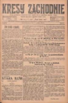 Kresy Zachodnie: pismo poświęcone obronie interesów narodowych na zachodnich ziemiach Polski 1925.04.08 R.3 Nr81