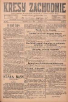 Kresy Zachodnie: pismo poświęcone obronie interesów narodowych na zachodnich ziemiach Polski 1925.04.18 R.3 Nr89