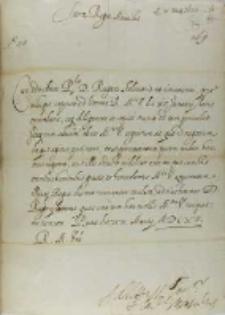 List kardynała Montaltusa do króla Zygmunta III, Rzym 20.03.1615