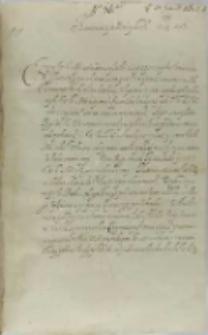 List Bernarda Maciejowskiego biskupa krakowskiego do króla Zygmunta III, Łowicz 28.01.1602