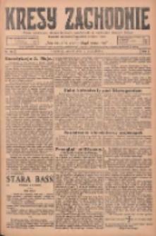 Kresy Zachodnie: pismo poświęcone obronie interesów narodowych na zachodnich ziemiach Polski 1925.05.05 R.3 Nr103