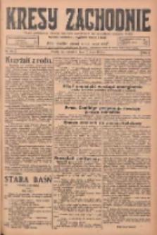 Kresy Zachodnie: pismo poświęcone obronie interesów narodowych na zachodnich ziemiach Polski 1925.05.07 R.3 Nr105