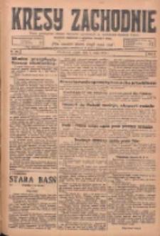 Kresy Zachodnie: pismo poświęcone obronie interesów narodowych na zachodnich ziemiach Polski 1925.05.08 R.3 Nr106