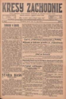 Kresy Zachodnie: pismo poświęcone obronie interesów narodowych na zachodnich ziemiach Polski 1925.05.12 R.3 Nr109