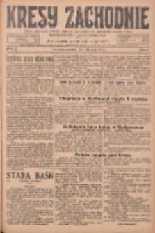 Kresy Zachodnie: pismo poświęcone obronie interesów narodowych na zachodnich ziemiach Polski 1925.05.21 R.3 Nr117
