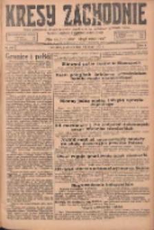 Kresy Zachodnie: pismo poświęcone obronie interesów narodowych na zachodnich ziemiach Polski 1925.05.24 R.3 Nr119