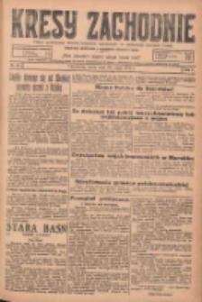 Kresy Zachodnie: pismo poświęcone obronie interesów narodowych na zachodnich ziemiach Polski 1925.05.27 R.3 Nr121