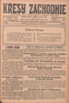 Kresy Zachodnie: pismo poświęcone obronie interesów narodowych na zachodnich ziemiach Polski 1925.05.31 R.3 Nr125