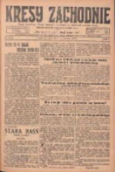 Kresy Zachodnie: pismo poświęcone obronie interesów narodowych na zachodnich ziemiach Polski 1925.06.10 R.3 Nr132