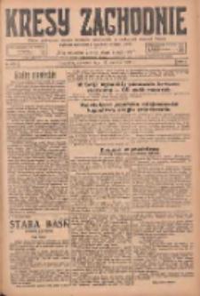 Kresy Zachodnie: pismo poświęcone obronie interesów narodowych na zachodnich ziemiach Polski 1925.06.11 R.3 Nr133