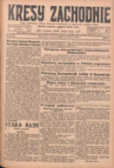 Kresy Zachodnie: pismo poświęcone obronie interesów narodowych na zachodnich ziemiach Polski 1925.06.18 R.3 Nr138