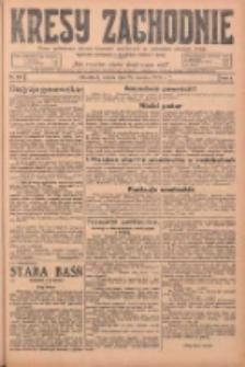 Kresy Zachodnie: pismo poświęcone obronie interesów narodowych na zachodnich ziemiach Polski 1925.06.20 R.3 Nr140