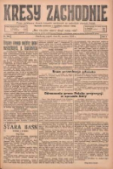 Kresy Zachodnie: pismo poświęcone obronie interesów narodowych na zachodnich ziemiach Polski 1925.06.26 R.3 Nr145