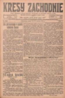 Kresy Zachodnie: pismo poświęcone obronie interesów narodowych na zachodnich ziemiach Polski 1925.06.27 R.3 Nr146