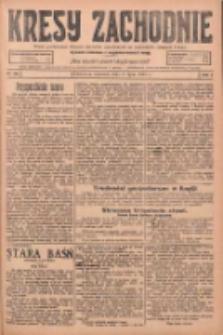 Kresy Zachodnie: pismo poświęcone obronie interesów narodowych na zachodnich ziemiach Polski 1925.07.02 R.3 Nr149