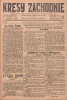 Kresy Zachodnie: pismo poświęcone obronie interesów narodowych na zachodnich ziemiach Polski 1925.07.03 R.3 Nr150