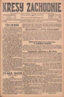 Kresy Zachodnie: pismo poświęcone obronie interesów narodowych na zachodnich ziemiach Polski 1925.07.09 R.3 Nr155
