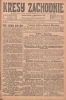 Kresy Zachodnie: pismo poświęcone obronie interesów narodowych na zachodnich ziemiach Polski 1925.07.12 R.3 Nr158