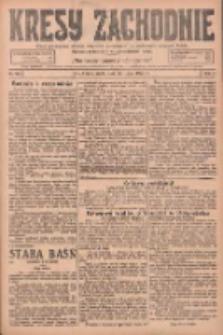 Kresy Zachodnie: pismo poświęcone obronie interesów narodowych na zachodnich ziemiach Polski 1925.07.15 R.3 Nr159