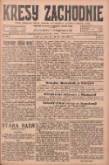 Kresy Zachodnie: pismo poświęcone obronie interesów narodowych na zachodnich ziemiach Polski 1925.07.16 R.3 Nr160