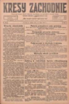 Kresy Zachodnie: pismo poświęcone obronie interesów narodowych na zachodnich ziemiach Polski 1925.07.17 R.3 Nr162