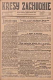 Kresy Zachodnie: pismo poświęcone obronie interesów narodowych na zachodnich ziemiach Polski 1925.07.21 R.3 Nr165