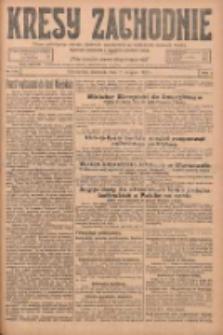 Kresy Zachodnie: pismo poświęcone obronie interesów narodowych na zachodnich ziemiach Polski 1925.08.02 R.3 Nr176