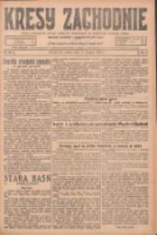 Kresy Zachodnie: pismo poświęcone obronie interesów narodowych na zachodnich ziemiach Polski 1925.08.08 R.3 Nr181