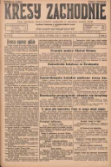 Kresy Zachodnie: pismo poświęcone obronie interesów narodowych na zachodnich ziemiach Polski 1925.08.09 R.3 Nr182