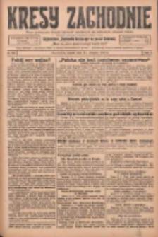 Kresy Zachodnie: pismo poświęcone obronie interesów narodowych na zachodnich ziemiach Polski 1925.08.14 R.3 Nr186