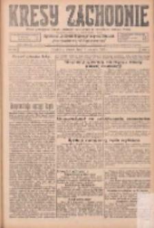 Kresy Zachodnie: pismo poświęcone obronie interesów narodowych na zachodnich ziemiach Polski 1925.08.18 R.3 Nr188