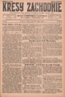 Kresy Zachodnie: pismo poświęcone obronie interesów narodowych na zachodnich ziemiach Polski 1925.08.30 R.3 Nr199