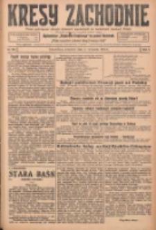 Kresy Zachodnie: pismo poświęcone obronie interesów narodowych na zachodnich ziemiach Polski 1925.09.03 R.3 Nr202