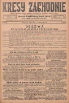 Kresy Zachodnie: pismo poświęcone obronie interesów narodowych na zachodnich ziemiach Polski 1925.09.04 R.3 Nr203