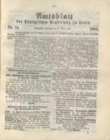 Amtsblatt der Königlichen Regierung zu Posen.1904.04.19 Nr.16
