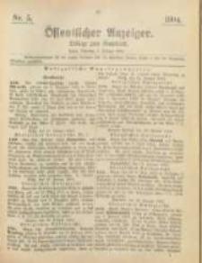 Oeffentlicher Anzeiger. 1904.02.02 Nro.5