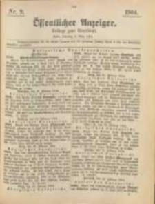Oeffentlicher Anzeiger. 1904.03.02 Nro.9