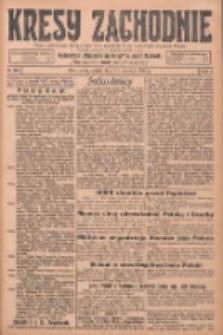 Kresy Zachodnie: pismo poświęcone obronie interesów narodowych na zachodnich ziemiach Polski 1925.09.11 R.3 Nr209