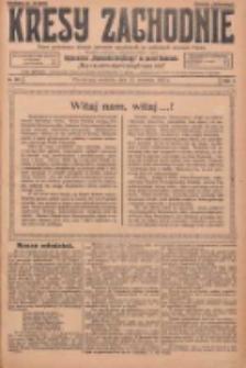 Kresy Zachodnie: pismo poświęcone obronie interesów narodowych na zachodnich ziemiach Polski 1925.09.13 R.3 Nr211