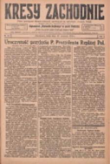 Kresy Zachodnie: pismo poświęcone obronie interesów narodowych na zachodnich ziemiach Polski 1925.09.16 R.3 Nr212