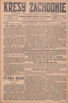 Kresy Zachodnie: pismo poświęcone obronie interesów narodowych na zachodnich ziemiach Polski 1925.09.17 R.3 Nr213