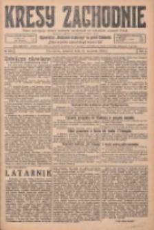 Kresy Zachodnie: pismo poświęcone obronie interesów narodowych na zachodnich ziemiach Polski 1925.09.24 R.3 Nr219